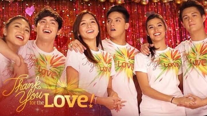 Thank You For The Love (Recording ver.) - KathNiel, LizQuen, JaDine